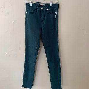 Gap Mid Rise Sculpt True Skinny Jeans, blue-gray
